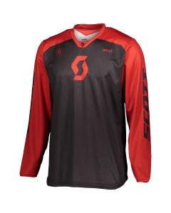 SCOTT Jersey 350 Track Blk/Red L