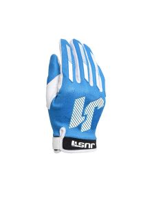 JUST1 J-FORCE X YOUTH MX GLOVES BLU 5