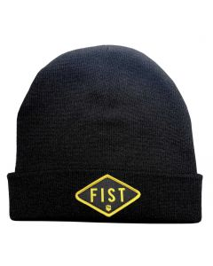 FIST Badged Beanie Black