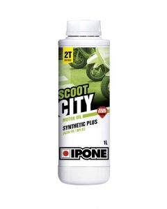 Ipone Scoot City Engine Oil - Strawberry 2T 1L